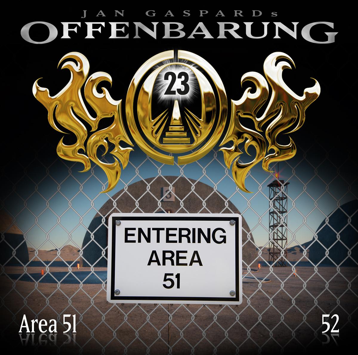 Offenbarung 23 - Area 51 (Offenbarung 23, #52)  by  Jan Gaspard