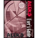 Aleks Users Guide-Two Term  by  Aleks Corp. Staff