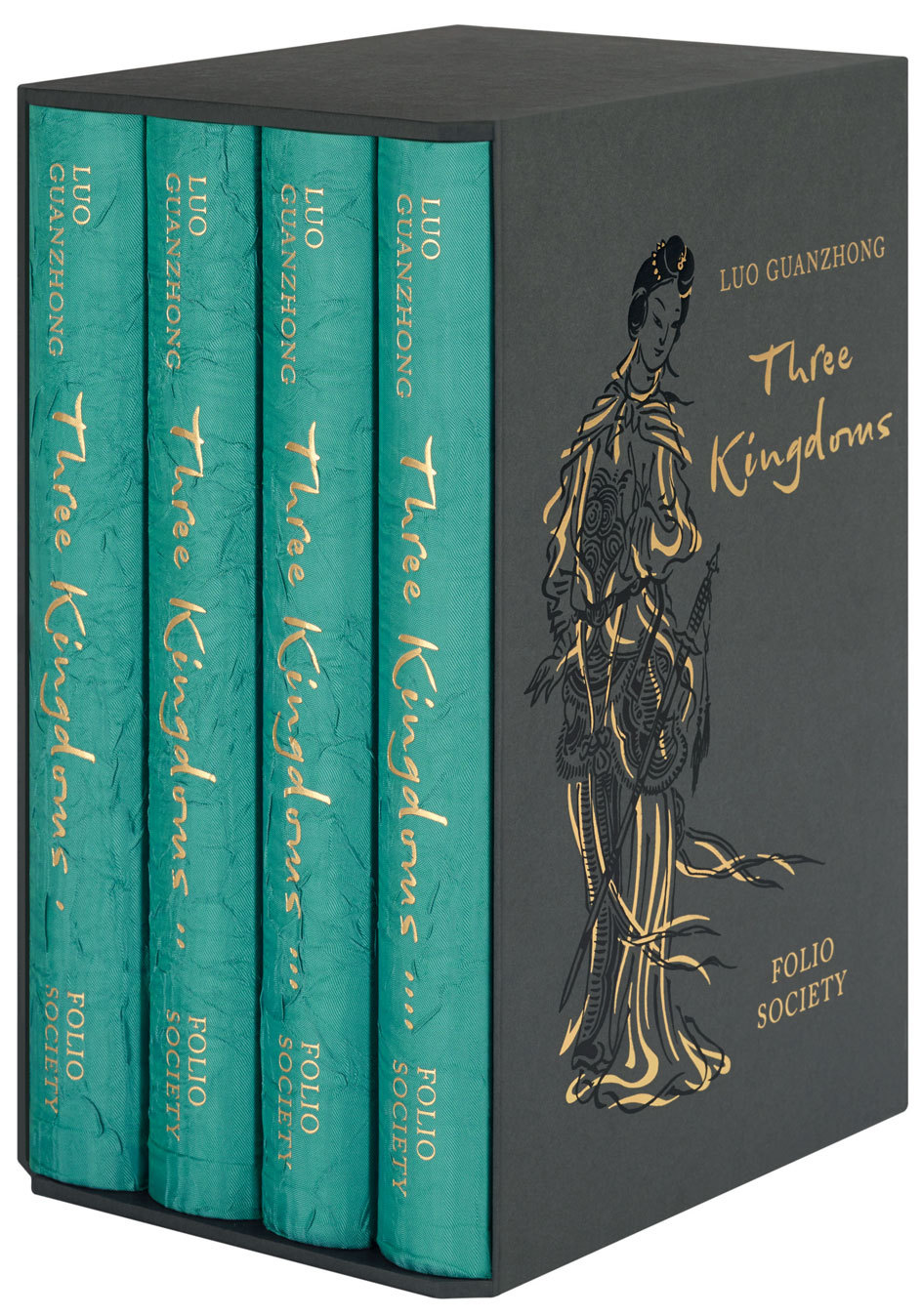 Three Kingdoms: Classic Novel in Four Volumes Luo Guanzhong