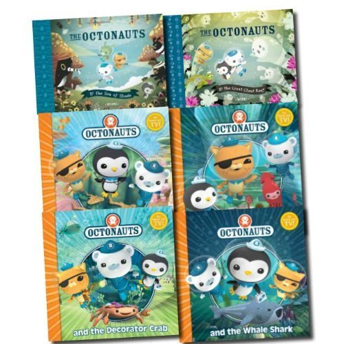 The Octonauts Collection 6 Books Set  by  HarperCollins