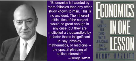 "the simple lesson on the book economics in one lesson by henry hazlitt You've heard of ""the broken window theory"" but have you read about itit's the second chapter in a classic book from henry hazlitt, the genius american economist."