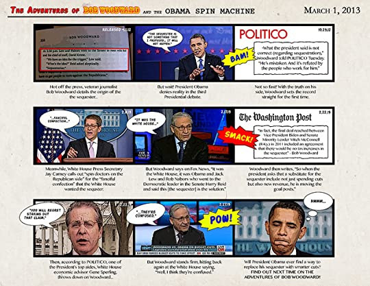 The Adventures of Bob Woodward and the Obama Spin Machine