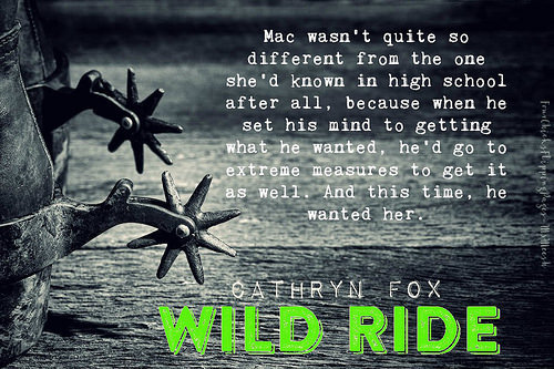 #WildRide_Cathryn Fox