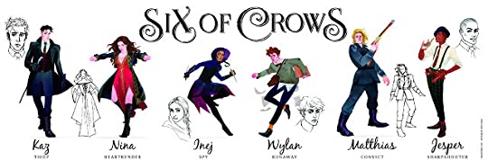 characters of six of crows