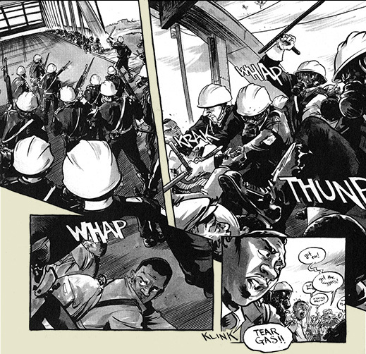 March: Book One by Rep. John Lewis, Andrew Aydin, and Nate Powell