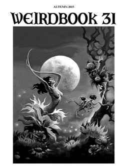 Weirdbook31 back cover by S. Fabian
