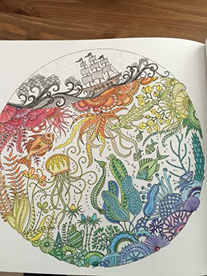 Lost Ocean An Inky Adventure And Coloring Book For Adults By Johanna Basford Reviews