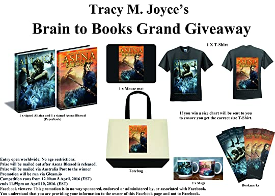 Win a signed copy of Altaica and Asena Blessed by Tracy M Joyce!