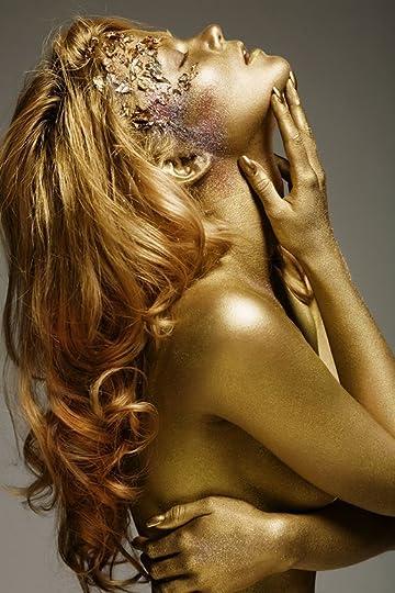 золотые бодиарт женские тела фото