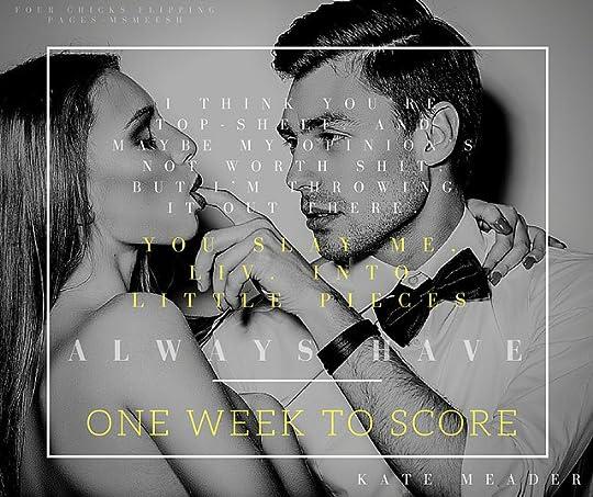 #OneWeekToScore